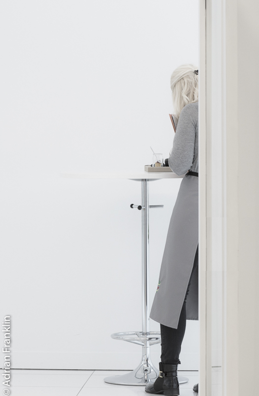 Girl beyond the door